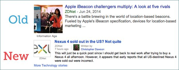 Authorship Google News