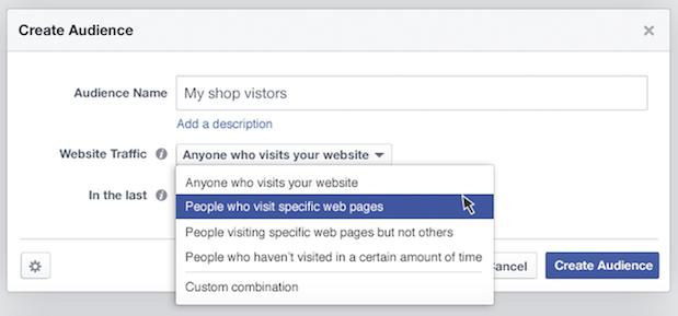 facebook ads create audience