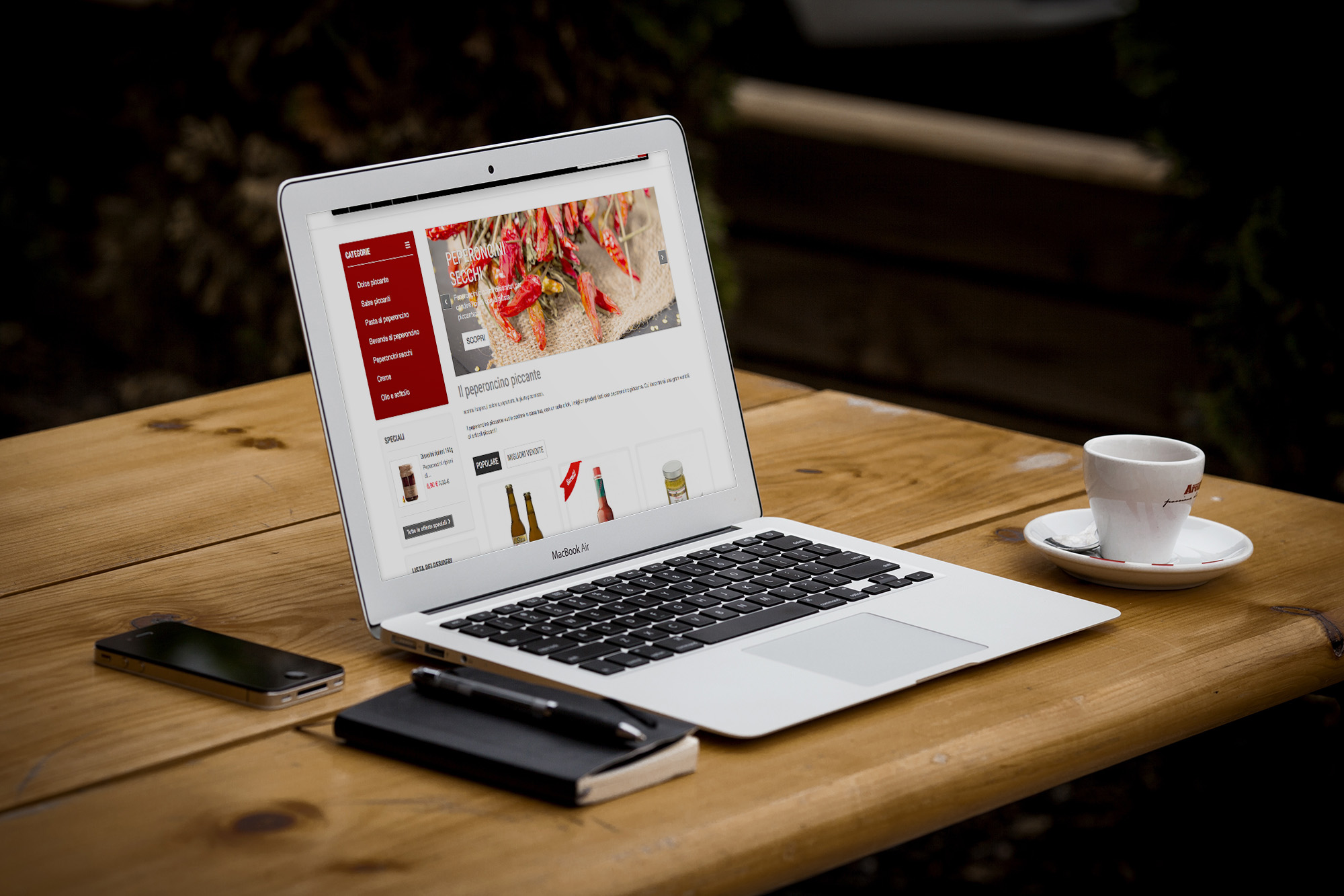 il peperoncino piccante shop online