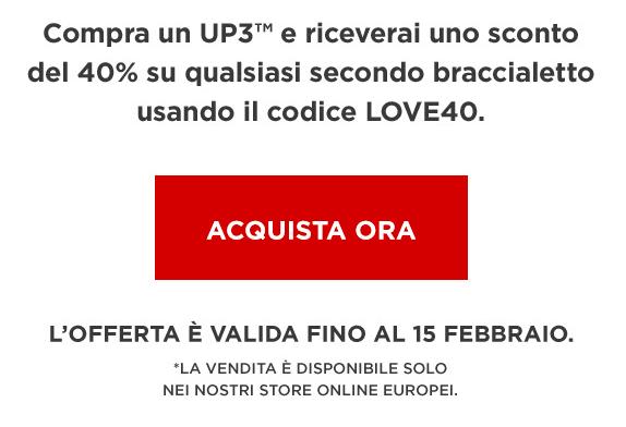 jawbone newsletter san valentino
