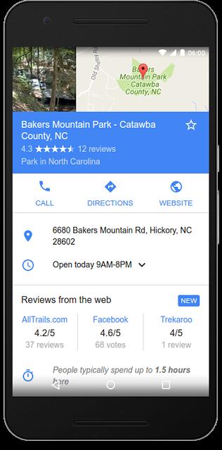 google recensioni dal web
