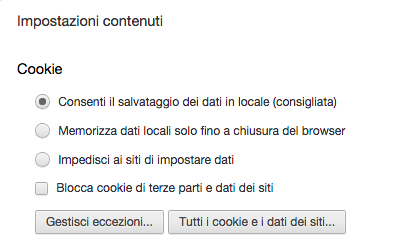 Cookie e privacy nei siti web