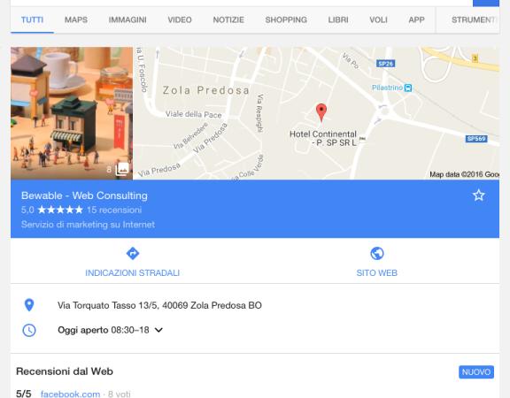 bewable google recensioni dal web